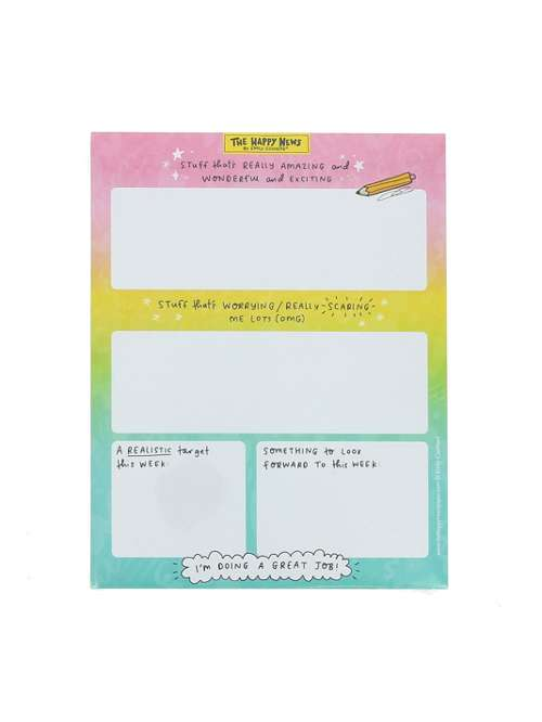 The Happy News Desk Planner Pad - House of Fraser on hugo house, limen house, perry house, fountain house, luther house, united states house,