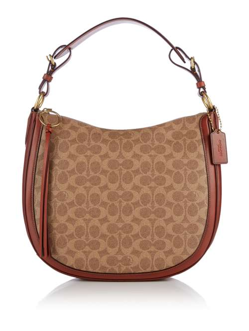 Coach Sutton Signature Hobo Bag - House of Fraser ef898001f94bb