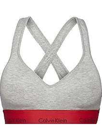 ae964b0eed Calvin Klein Modern cotton bralette lightly lined ...