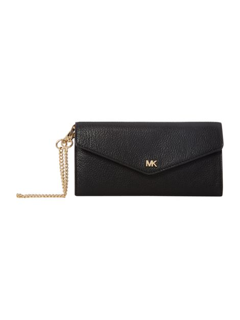 Money Pieces Large Chain Envelope Carryall by Michael Kors