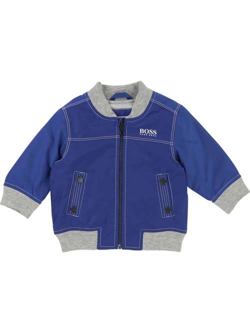 Hugo Boss Baby Boys Bomber Jacket - House of Fraser b3dee991a