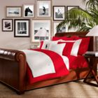 Ralph Lauren Home Player flat sheet