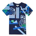 Kenzo Boys tee-Shirt Cotton