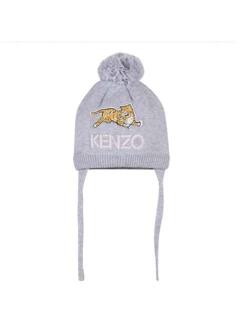 Kenzo Baby Girl Hat Grey - House of Fraser 61e63269262