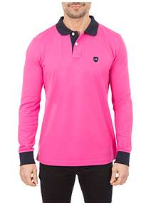 Men s Pink Polo Shirts   Tops and T-Shirts - House of Fraser 64d13507cf0a