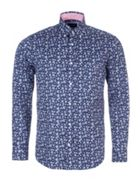 Men's Eden Park Floral Print Shirt With Chest