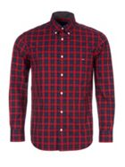 Men's Eden Park Check Print Shirt With Chest