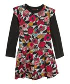 Catimini Girls Printed Floral Dress