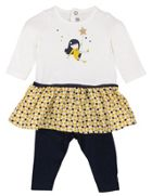 Catimini Girls Printed Outfit