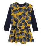 Girls Printed Crepe Dress