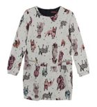 Catimini Girls Animal Print Dress