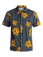 Men's Quiksilver South Beach Dimes Short Sleeve Shirt
