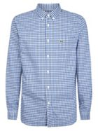 Men's Lacoste Check Shirt