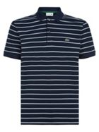 Men's Lacoste Regular Fit Striped Cotton Piqué Polo