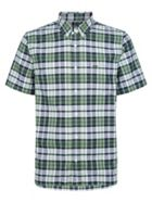 Men's Lacoste Regular Fit Colored Check Cotton Oxford