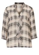 Betty Barclay Check chiffon blouse