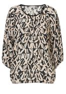 Betty & Co. Graphic print blouse