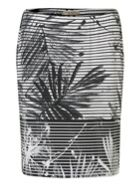 Betty Barclay Fern print skirt