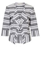 Betty Barclay Textured stripe jacket