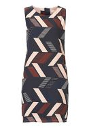 Graphic Print Dress