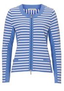 Betty Barclay Sporty striped cardigan