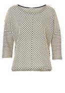 Betty & Co. Chevron stripe textured top