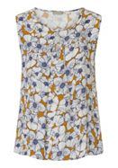 Betty & Co. Sleeveless floral print top