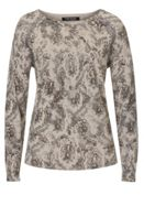 Betty Barclay Embellished print jumper