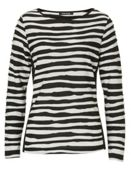 Betty Barclay Ripple striped top