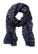 Betty Barclay Long Floral And Graphic Print Scarf