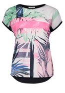Betty Barclay Graphic Fern Print Top