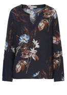 Betty & Co. Floral Print Blouse With Bell