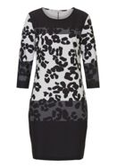 Betty Barclay Animal Print Jersey Dress