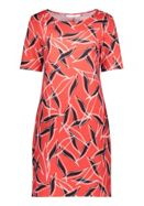 Betty & Co. Graphic Print Jersey Dress