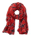 Betty & Co. Graphic Print Scarf