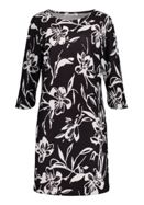 Betty & Co. Monochrome Print Dress