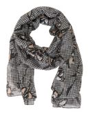 Betty & Co. Gingham Print Scarf