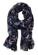 Betty & Co. Floral Print Scarf