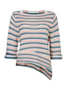 Oui Multi stripe jumper