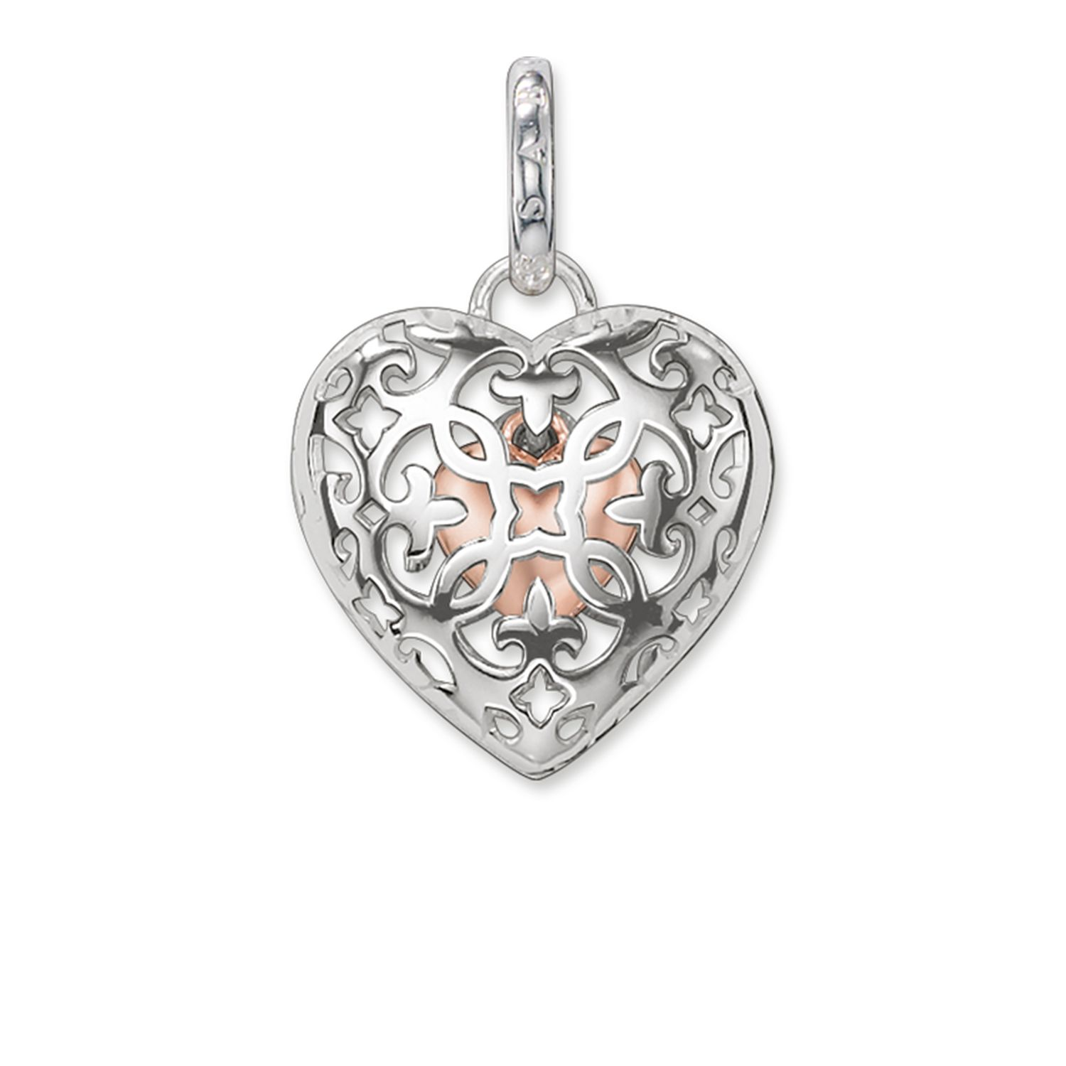 locket lockets small heart filigree