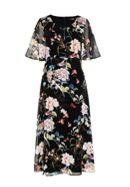 Hallhuber Midi dress with maxi floral print