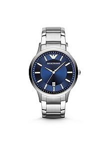 men s watches watches for men house of fraser emporio armani ar2477 mens renato stainless steel watch