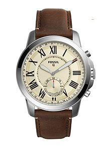 men s watches watches for men house of fraser fossil q ftw1118 mens strap smart watch