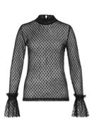 Hallhuber Sheer Mesh Long Sleeve