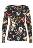 Hallhuber Long Sleeve With Floral Print