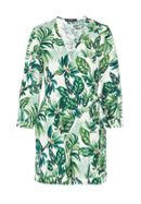 Hallhuber Wrap-Style Playsuit With Leaf Print