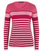 Olsen Pullover Horizontal Stripes