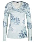 Olsen Long Sleeved Shirt Butterflies