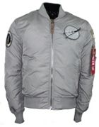 Men's Alpha Industries Ma-1 Vf Nasa Rp Bomber