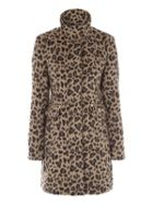 Jane Norman Funnel Neck Coat